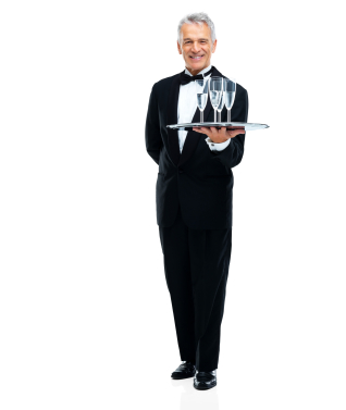 At Your real estate closing should you expect a butler to serve champaigne?